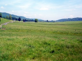 Upper Blue Grass Valley from the Hull Meadow