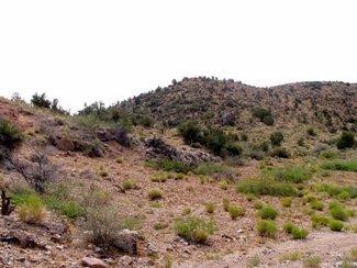 Terrain along the Eastern boundary