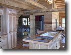 Wisconsin Farm Land 5 Acres Rustic,Romantic Log Lodge
