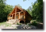 White Cedar Log Cabin 174 +/- Acres