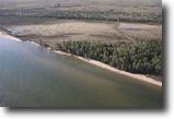 Michigan Waterfront 1 Acres 21771 Pine Beach Dr.  MLS #1078663