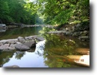 West Virginia Waterfront 22 Acres Riverfront 1-22 ac. Log Cabin, Snowshoe,WV