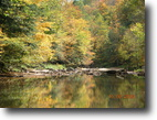 West Virginia Farm Land 22 Acres Log Cabin on Elk River WV Seasonal Rental