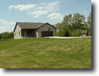 10 acres Schuyler Co., IL with home