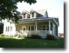 Wisconsin Land 5 Acres New Price 3BR/2BA Victorian home on 5 ac.