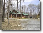 Tennessee Waterfront 13 Acres Gorgeous, Secluded Cabin