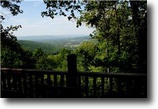 Tennessee Land 1 Acres Mountain View from Custom Built Log Home
