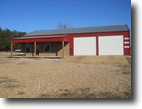 Mississippi Land 1 Acres Commercial Shop on Hwy 82 in Webster Co.