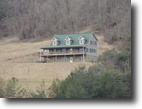 Virginia Land 2 Acres 4 Bed 3.5 Bath Home Overlooking New River