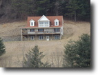 Virginia Land 2 Acres 4 Bed 3.5 Bath ~ Overlooks New River