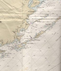 Spare Island North West Nautical Map