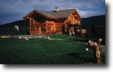 British Columbia Farm Land 5 Acres 6 bed, 3 bath custom log and stone home