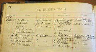 St. Lukes Log 1893