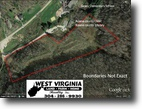 West Virginia Land 23 Acres Great building sites near school library