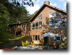 Wisconsin Waterfront 8 Acres Beautiful 4-Season Home on South Twin Lake