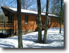 Wisconsin Waterfront 4 Acres Private Home on Bond Lake - Wascott