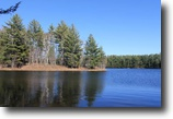 New York Waterfront 34 Acres Waterfront Cabin on Lake in Adirondacks!