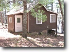 Wisconsin Waterfront 2 Acres Nancy Lake - Single Family Cabin