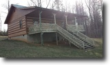 2 Bed 1 Bath Log Home on 5 Acres