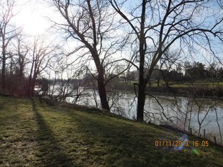 105-107 Riverview - Downstream / West View