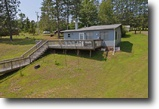 Wisconsin Waterfront 1 Acres Home on Cranberry Lake - Wascott