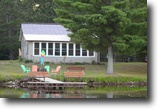 Wisconsin Waterfront 1 Acres Cabin on Deer Lake - Spooner