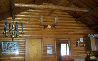 View inside cabin