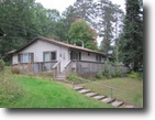 Wisconsin Land 1 Acres Charming Home in Solon Springs