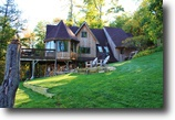 Wisconsin Waterfront 4 Acres Gorgeous Cedar Home!