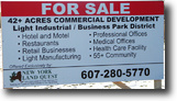 New York Land 43 Acres Prime Commercial Land in Dryden New York