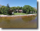 Wisconsin Waterfront 1 Acres Green Lake Waterfront Estate