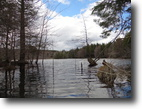 New York Hunting Land 8 Acres Waterfront Building Lot Private Lake in NY