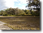 Florida Waterfront 16 Square Feet Lakeview Mobile Home Lot on Owned Land