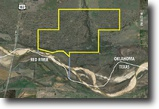 Oklahoma Ranch Land 960 Acres Red River Ranch Auction