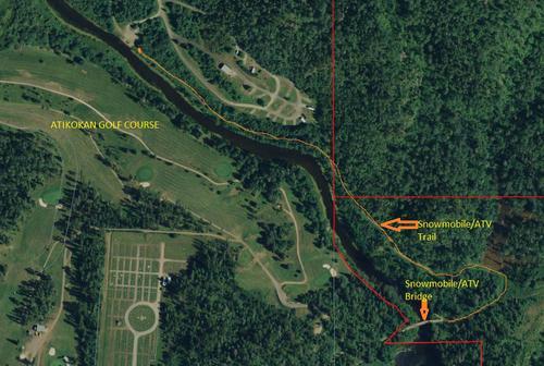 file acres of riverfront land property atikokan ontario