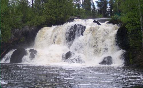 little falls which is at the edge of the property ontario