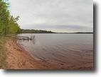 Wisconsin Waterfront 5 Acres Whitefish Lake Lot