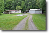 Tennessee Farm Land 5 Acres 4.80 Ac with home & garage on Poplar Grove
