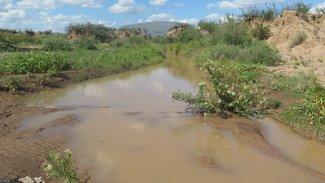 Calamity Creek after a rain