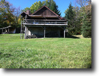 House near Hornell & Alfred NY 100 Acres