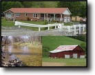 425 Acres 5 Homes, 8 Barns, Ponds, Creek