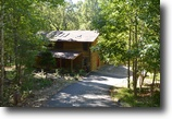 North Carolina Land 1 Acres Auction - Picturesque NC Log Home