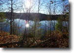 New York Hunting Land 150 Acres Waterfront Land on Red Lake in Theresa NY