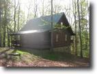 Log Cabin Nestled in the Woods