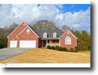 Georgia Land 3 Acres Ranch Home w/ Basement on Large Lot