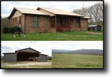 Tennessee Farm Land 160 Acres 159.59 Ac Farm With Home in Pall Mall, Tn