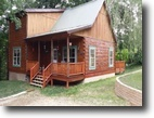 4 acres with 2 story log home