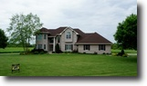 Wisconsin Waterfront 2 Acres Custom Built Home - Lake Views Green Lake