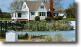 3BR/1.5BA Waterfront Home on 1.6 +/- Acres