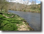 Virginia Waterfront 3 Acres Beautiful River Front Tract in Floyd VA!